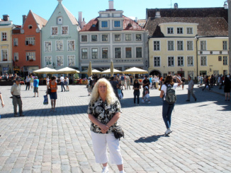 Town Hall Square Tallinn.