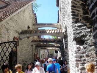 Medieval St. Catherine's Passage in Tallinn.
