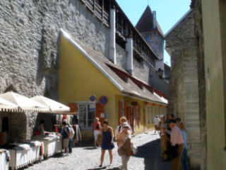 Hellemann Tower and Town Wall.