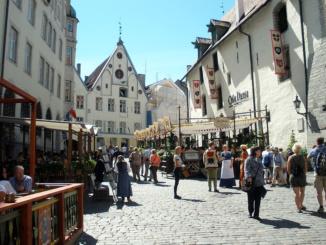 Olde Hansa Medieval Restaurant Vanaturu Kael Tallin.