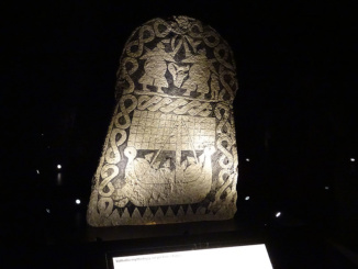 Pictish Symbol Stone representative of Norse Valhalla Mythology