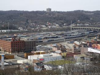 Queensgate Railroad Yard.