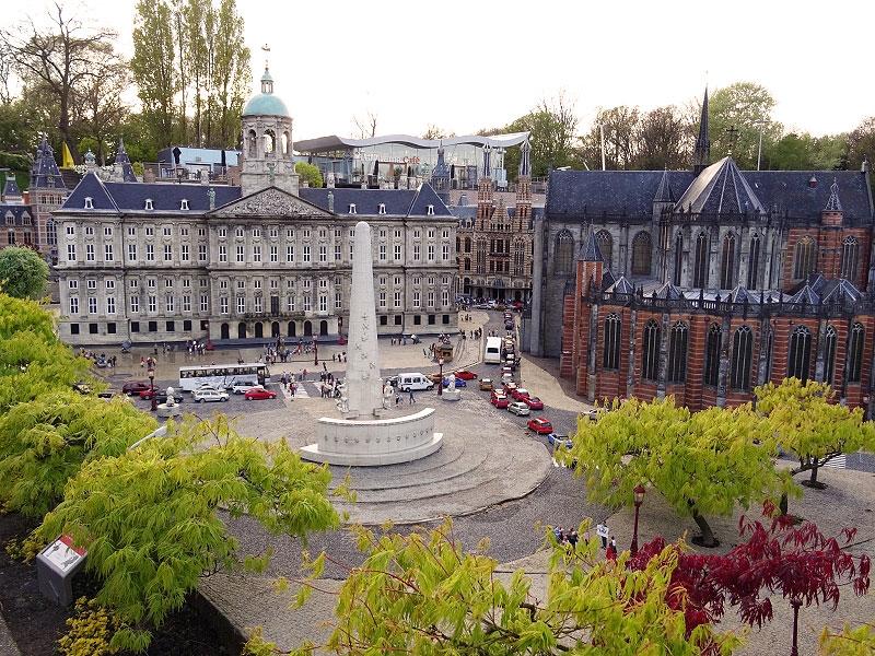 Dam Square Amsterdam Replica