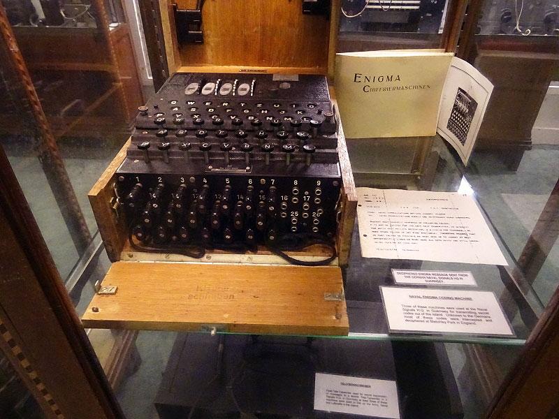 Original Enigma Machine