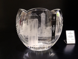 New York Engraved Bowl