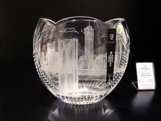 New York Engraved Bowl