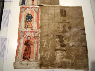 Part of Great Charter Roll of 1373