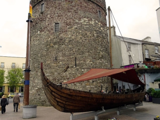 replica Viking Longship