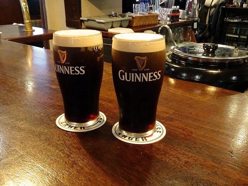 Guinness at Patriot's Inn Pub