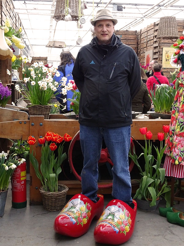 Size Giant Wooden Shoes