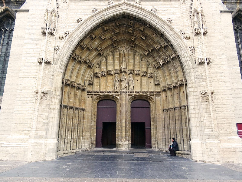 Entrance to St. Bravo's Cathedral