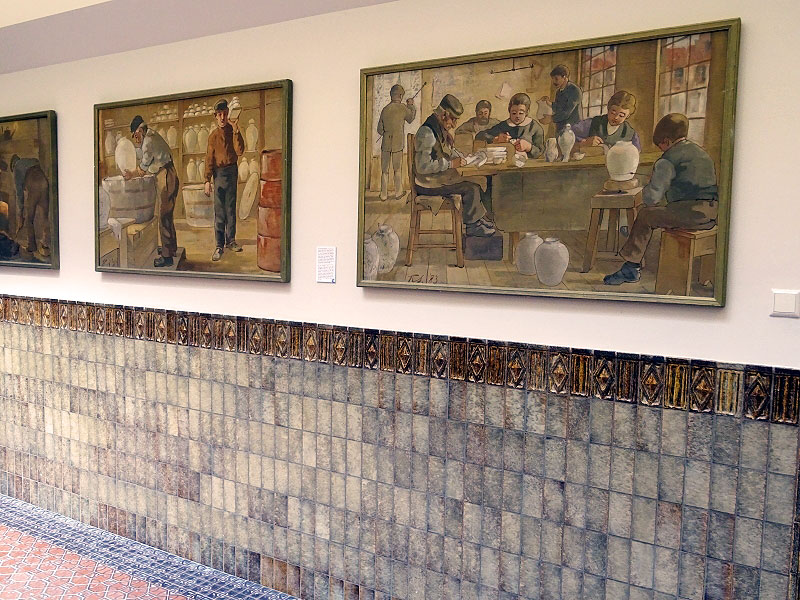 Depictations of the Delftware process
