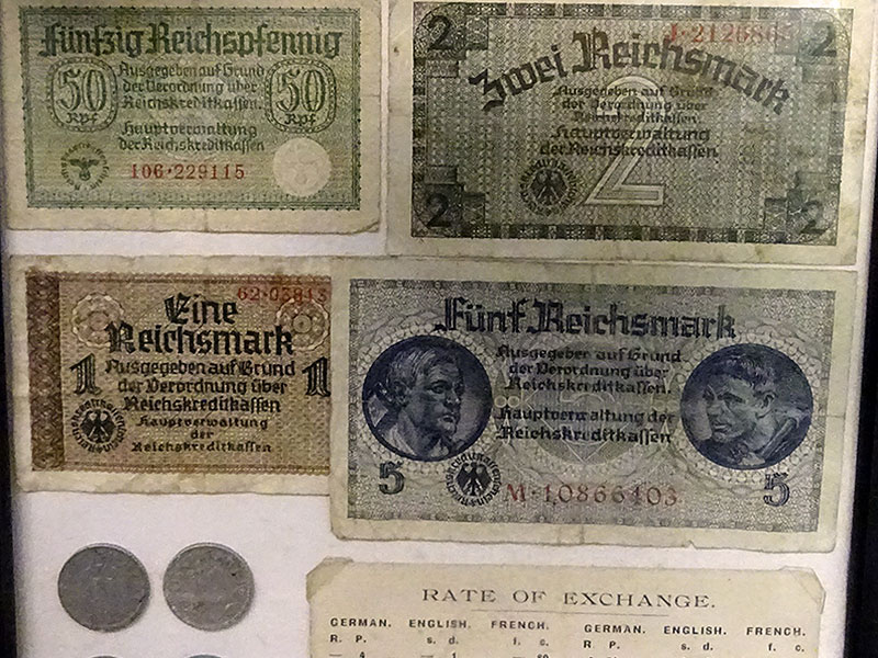Island Currency during the Occupation