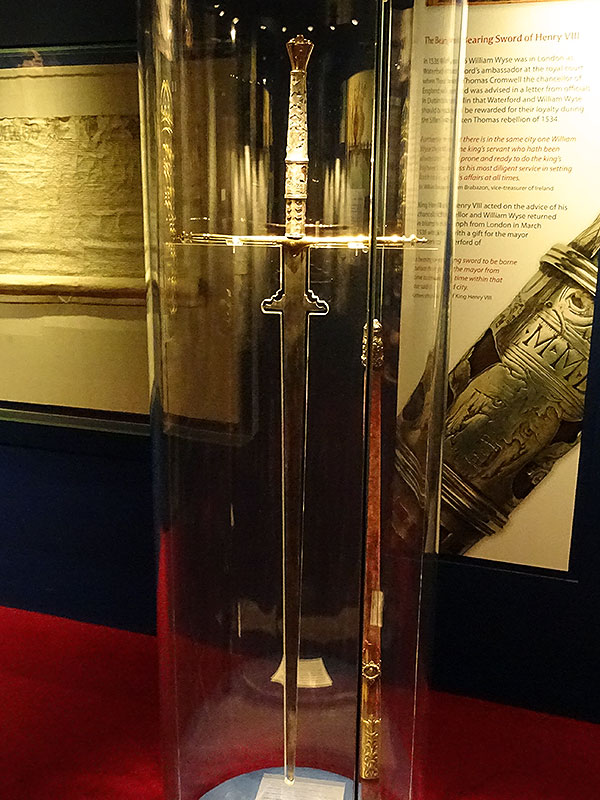Sword given by Henry VIII c1536