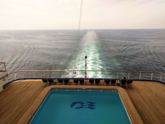 Aft Pool Caribbean Princess