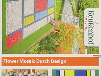 2017 Dutch Design Flower Mosaic