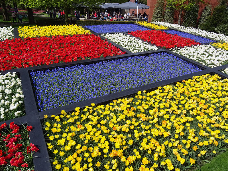 Dutch Design Flower Mosaic