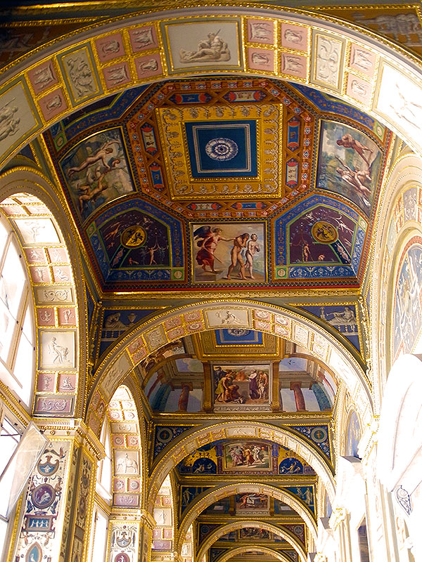 Interior ceiling of the Winter Palace