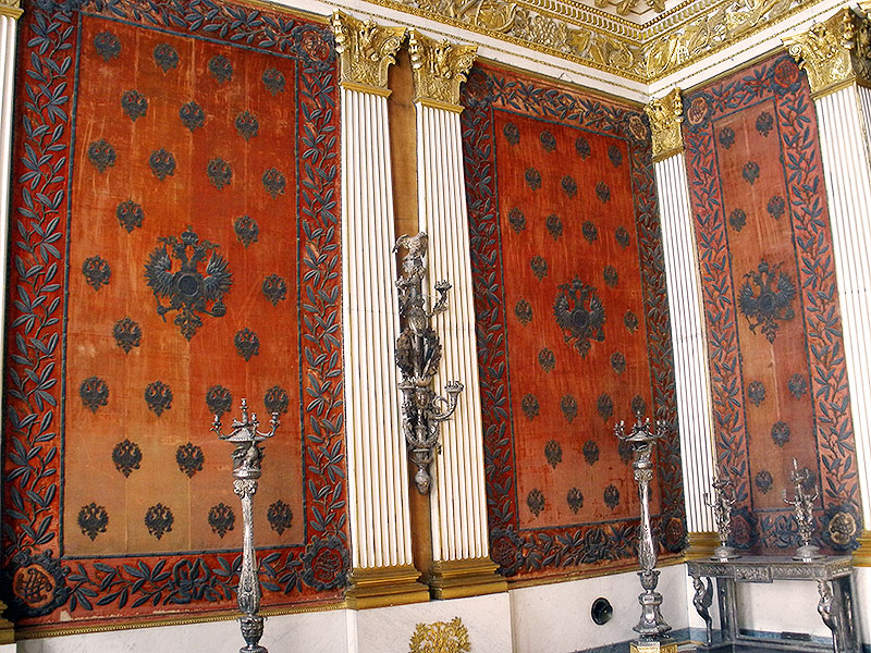 Tapestries in the Small Throne Room
