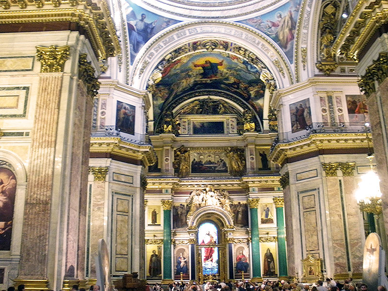 St. Isaac's Cathedral Interior