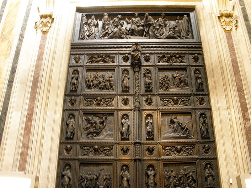 High relief bronze artistry