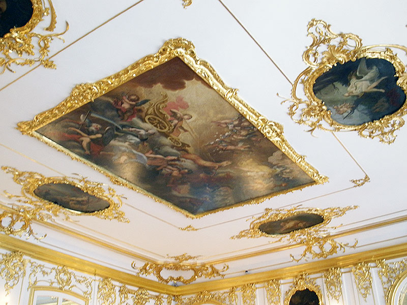 Artwork on the Ceilings