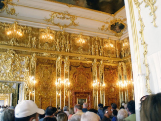 Peek inside the Amber Room