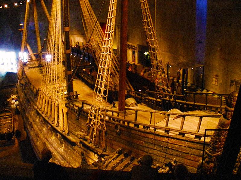 Overlooking the warship Vasa