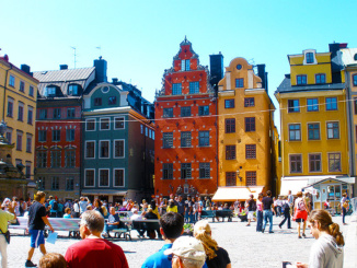 Stortorget main square in Gamla Stan