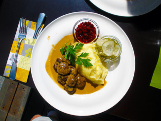Swedish Meatballs at Cultur Bar & Restaurant