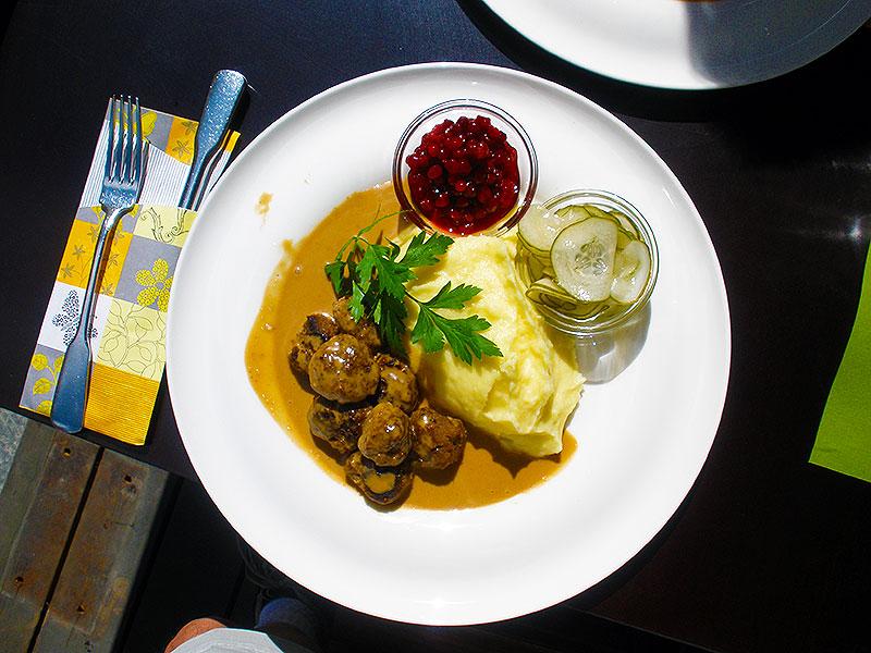 Swedish Meatballs at Cultur Bar & Restaurant