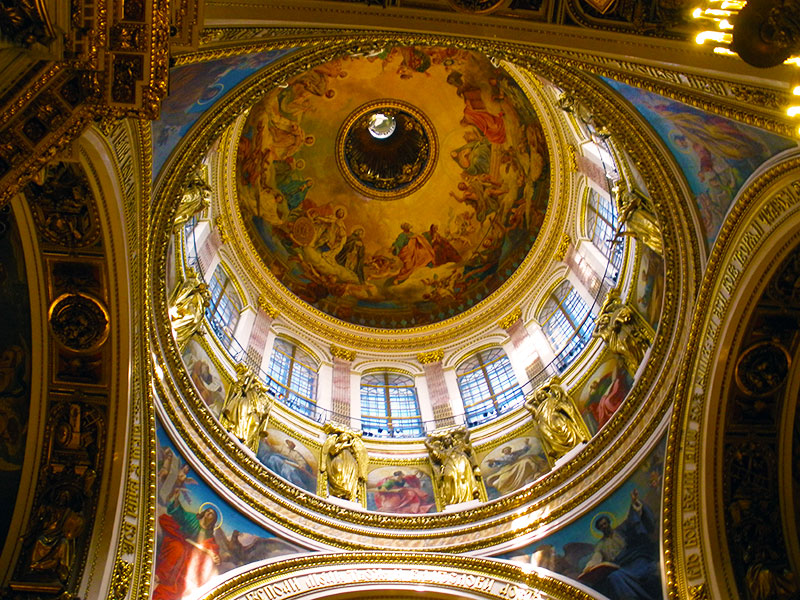 Interior of the great dome