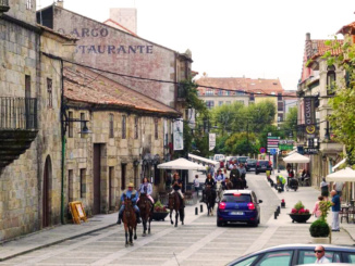Cambados Galicia on Horseback