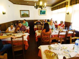 Dining at Curral dos Caprinos
