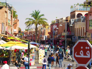 Welcome to Marrakesh.