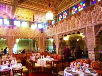 Inside the Palais Chahramane.