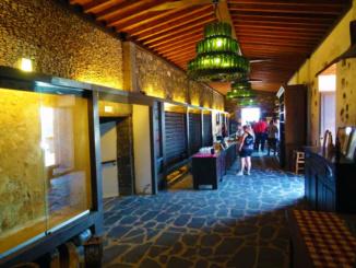 Inside Bodegas Rubicon.