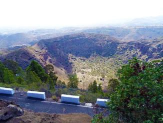 Caldera de Bandama Volcanic Crater.