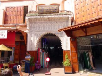 Bahia Souk Artisanal Market.