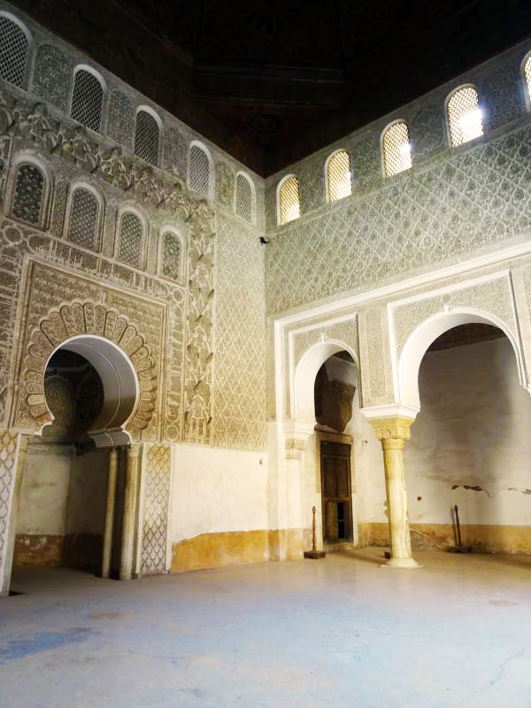 Prayer room.