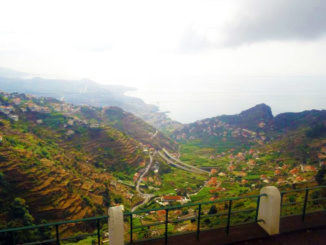 Hillsides in Funchal.