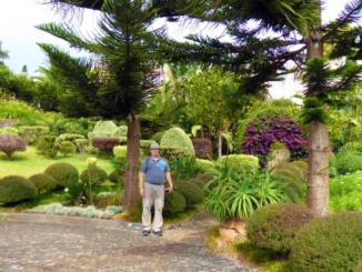 Gardens of Adega da Quinta.