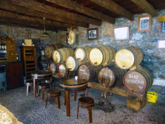 Wine cellar and specialty shop.