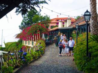 Frontage of Adega da Quinta Restaurant.