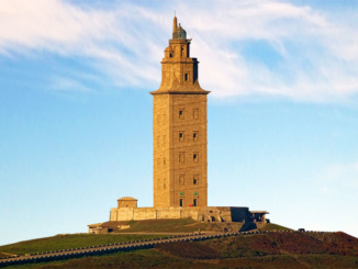 The Tower of Hercules - ancient Roman lighthouse.