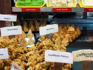 Large selection of Pakora