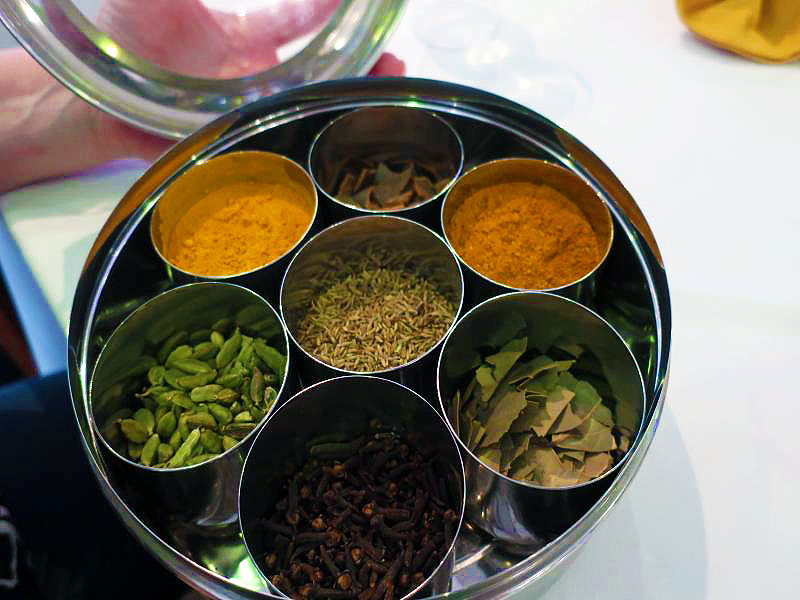 Identifying Indian spices