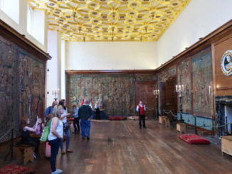 Great Watching Chamber where guards would control access to the other rooms of the palace