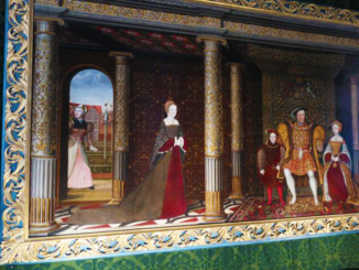 Painting of Henry VIII and Family