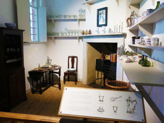 The Chocolate Kitchen was used to make delicious Hot Chocolate and other desserts
